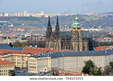 The Czech Castle is a UNESCO World Heritage Site. Architectural dominant of the Czech capital.