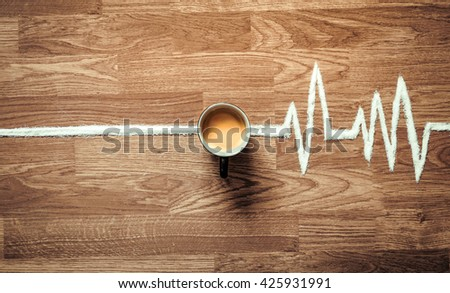 The daily dosage of energy - stock photo