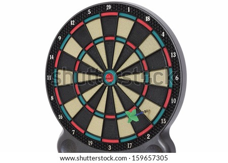 The darts game, number 15 - stock photo