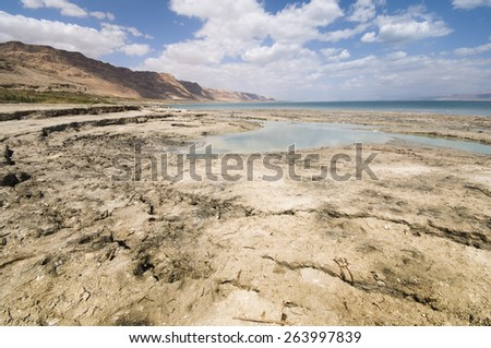 The Dead Sea situated in eastern Israel is a unique location. At 400 meters below sea level it is the lowest place on earth. The Dead Sea is located in the Judean Desert area.