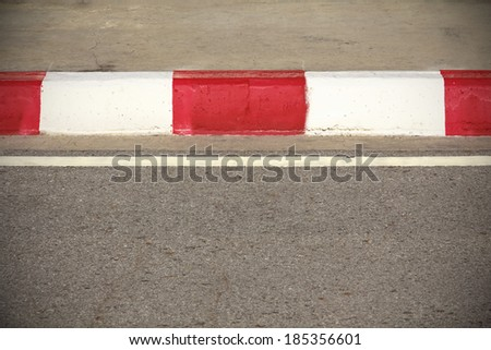 The detail of a road pattern background - stock photo