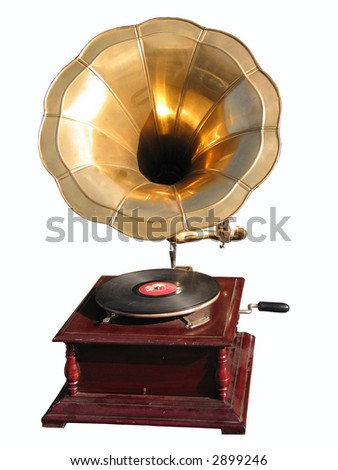 The device for playing phonograph records