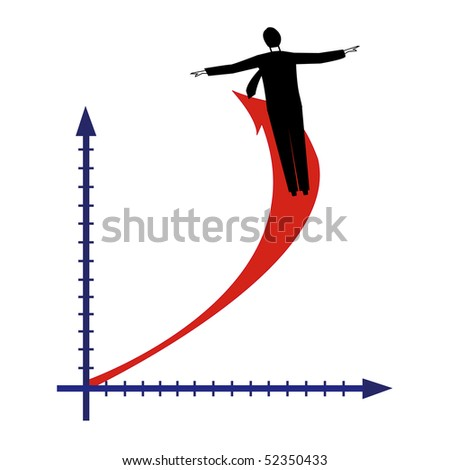 The diagramme of business success (you can find the same vector illustration in my portfolio)
