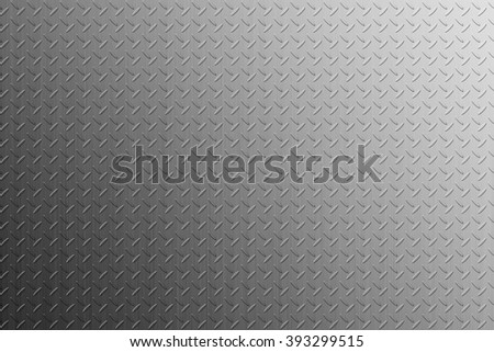 The diamond plate background for design work - stock photo