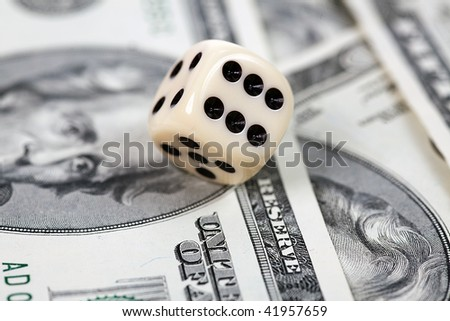 the dice on american money