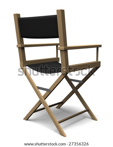 The Director's Chair - stock photo