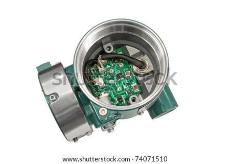 The disassembled gage. - stock photo