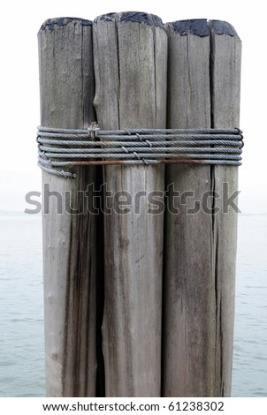 The dock on the southern tip of Manhattan. - stock photo
