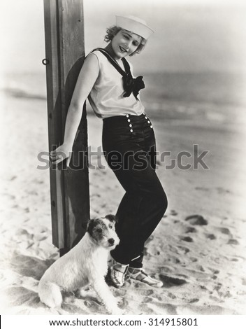 The dog days of summer - stock photo
