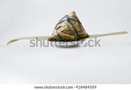 The Dragon Boat Festival Dumplings - stock photo