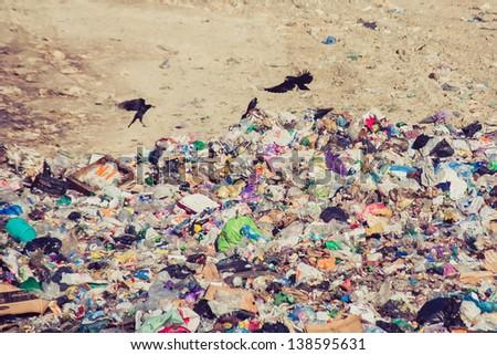 The dump - stock photo