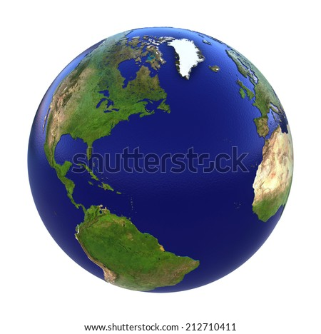 the earth - stock photo