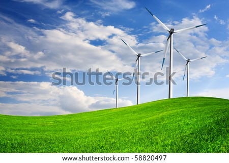 The Ecology of Power - stock photo