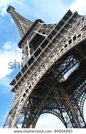 The Eiffel tower. Paris. France. - stock photo