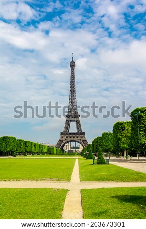 The Eiffel Tower was built in 1889, and is a popular attraction for tourists.