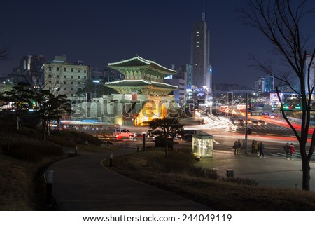 The Eight Gates of Seoul