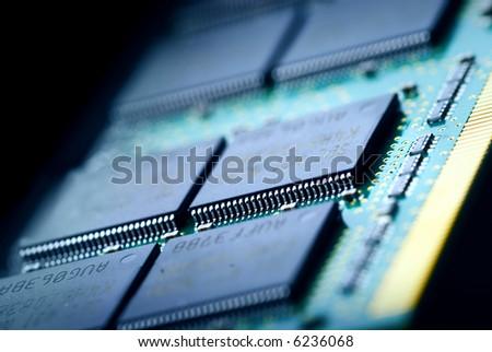 The electronics technology - stock photo