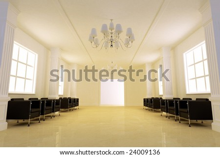 The elegance corridor room