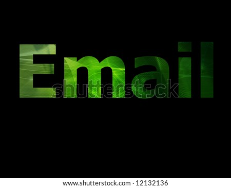 The Email symbol which represents the internet