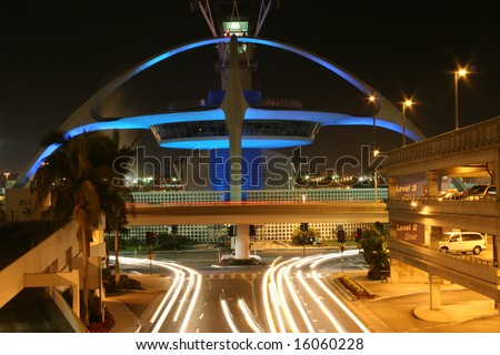 The Encounter restaurant at Los Angeles International Airport - stock photo