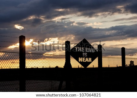 The end is near : Apocalypse - stock photo