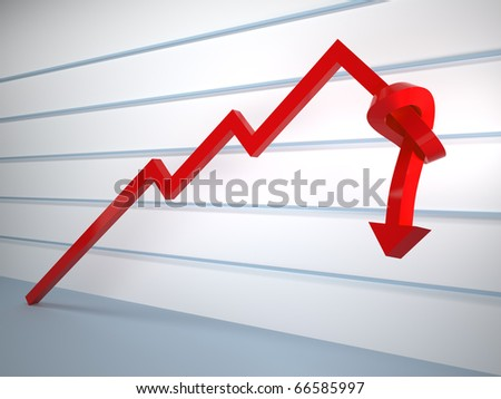 The end of growth - stock photo