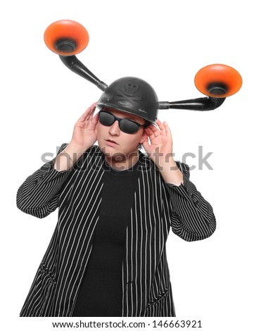 The enemy is listening. Espionage concept.  - stock photo
