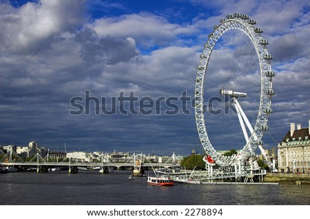 The Eye of London. A thing you can't miss.