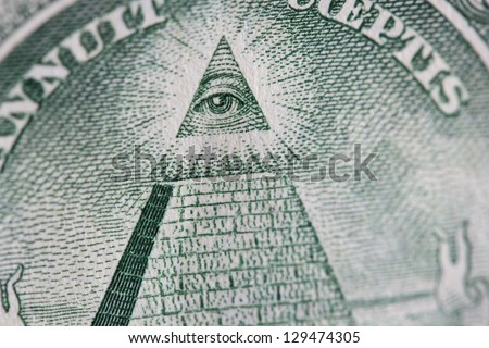 The Eye Of Providence - stock photo