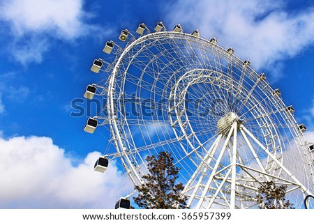 The Eye of the Sky. - stock photo