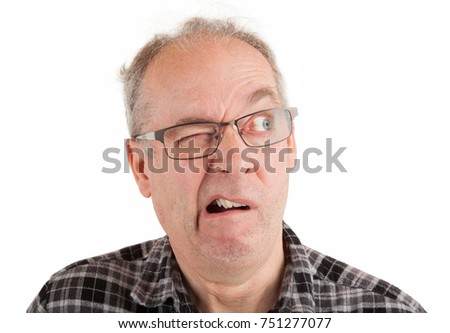 face man disbelief looking something highly stock photo (royalty