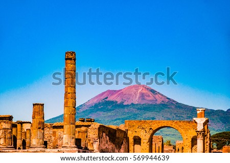 266ff9fc64 The famous antique site of Pompeii