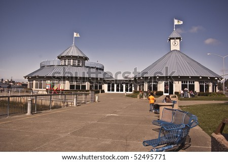 The Ferry Building at Vallejo, California - stock photo