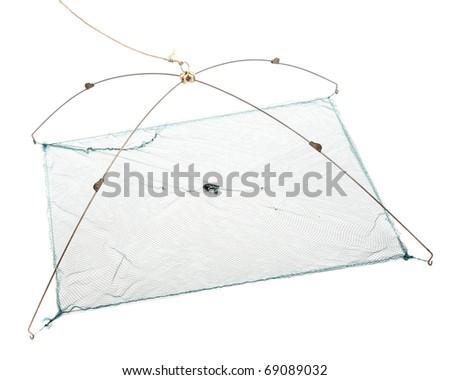 The Fishing-net. - stock photo