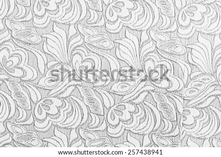 The floral fabric Abstract, may use as background/ Fabric texture background