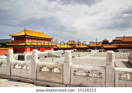 The Forbidden City (Gu Gong), Beijing, China - stock photo