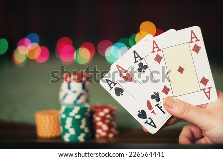 The four Ace - stock photo