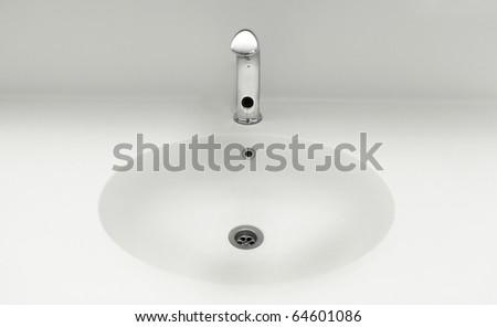 the fresh public WC - stock photo