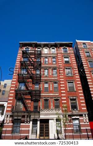 The Front Of A Famous Apartment Building In New York City. Part 96