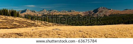 The Front Range - stock photo