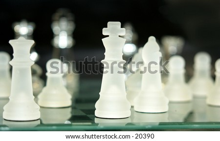 The game - stock photo