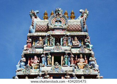 The Gate Hindu temple in Singapore