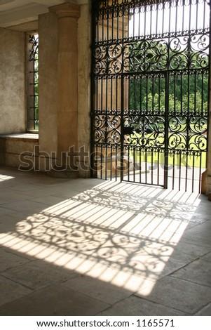 The Gate to Wisdom - stock photo