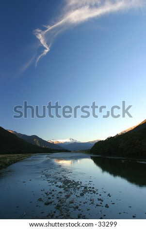The Gates of Haast - stock photo