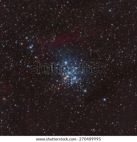 The Gem Cluster in the Constellation Carina - stock photo