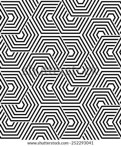 The geometric pattern by lines, stripes. Seamless  background. Dark texture.