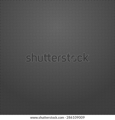 The geometric pattern by squares. Seamless  background. Black texture.
