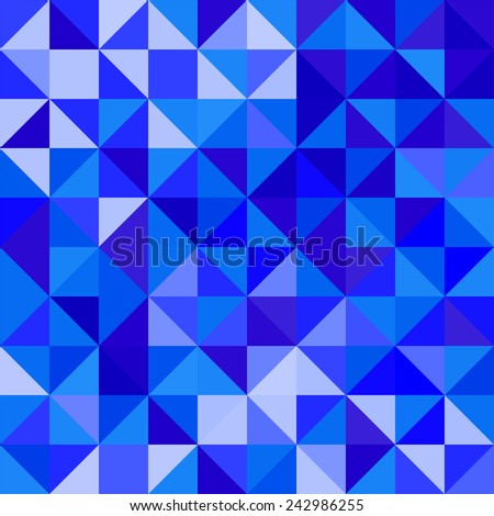The geometric pattern of repeating elements - stock photo