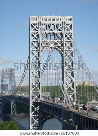 The George Washington Bridge - stock photo