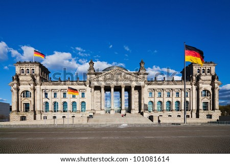 the German Reichstag building